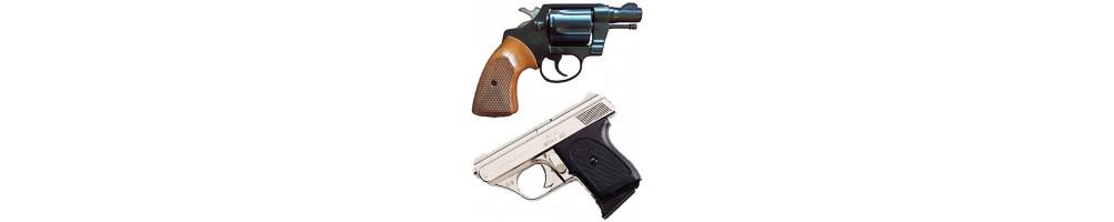 Armas Defesa Pessoal usadas - Eléctricas | Gaz Pimenta | pistolas | Revolver
