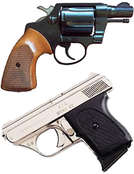 Armas de Defesa Pessoal Usadas