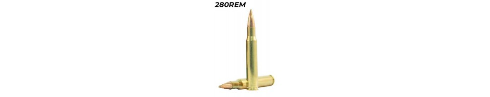 Munições de Carabina - Calibre 280 Rem. - Caça