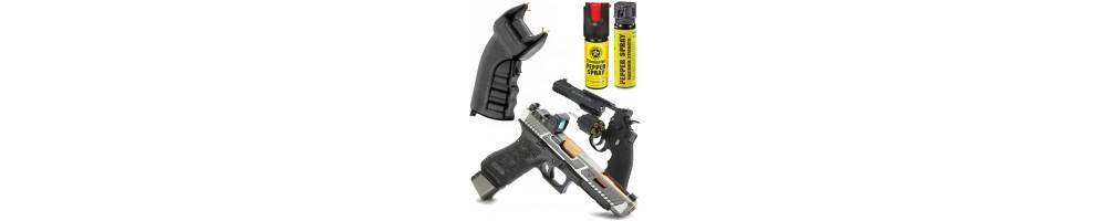 Armas Defesa Pessoal - Pistolas | Armas Electricas | Gaz | Taser