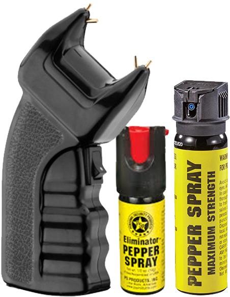 Armas Elétricas e Sprays de Defesa
