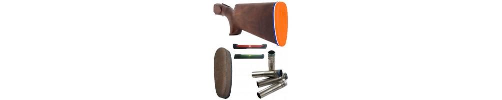 Peças de armas - Carregadores, chapas de coice, choques interiores...