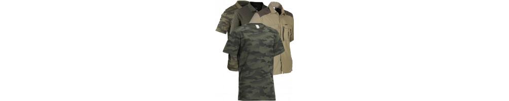 Polos, Camisas e T-Shirts | Vestuário e Roupa de Caça / Montanhismo