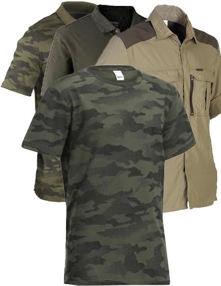 Polos, Camisas e T-Shirts