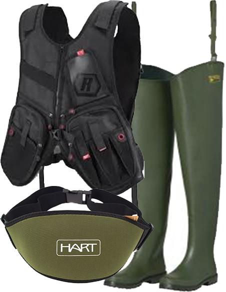Vestuário e Calçado de Pesca